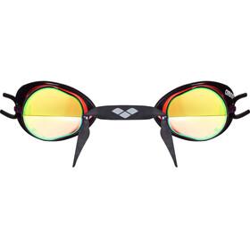 arena Swedix Mirror Goggles red-yellow-black